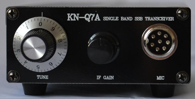 KN-Q7A SSB Transceiver - stavebnice 40m verze