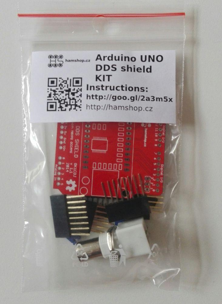 Arduino uno dds shield hamshop cz