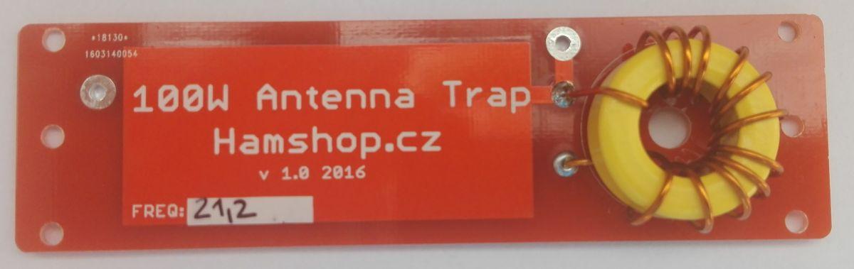 Anténní trap 100W 21 MHz