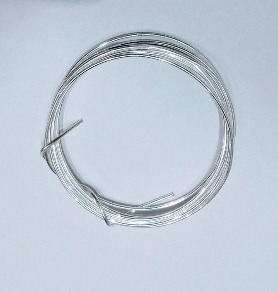 Postříbřený drát průměr 1mm