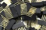 PIN lišta 8 pinů 2,54 mm extra dlouhé vývody
