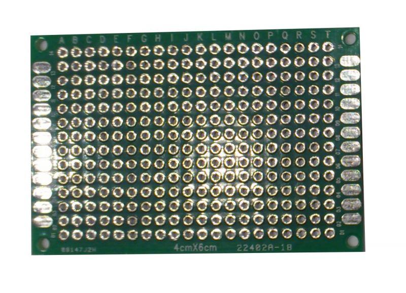 Univerzální plošný spoj 40x60mm