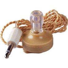 High impedance crystal earpiece