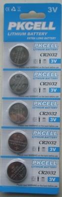 Baterie PKCELL CR2032 3V