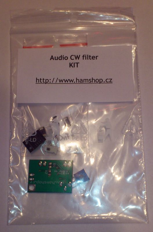 Audio CW filter