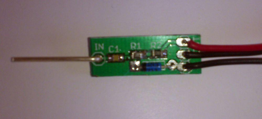 Stavebnice VF sondy / RF probe KIT