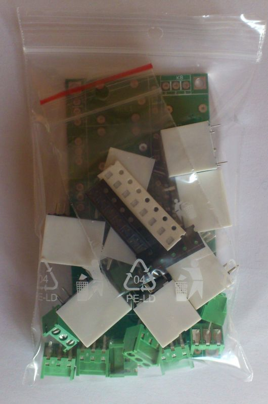 Relay card with 8 relays KIT - Raspberry Pi, Arduino
