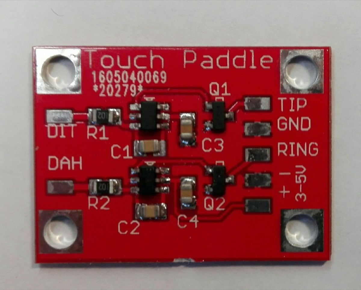 CW Touch paddle module