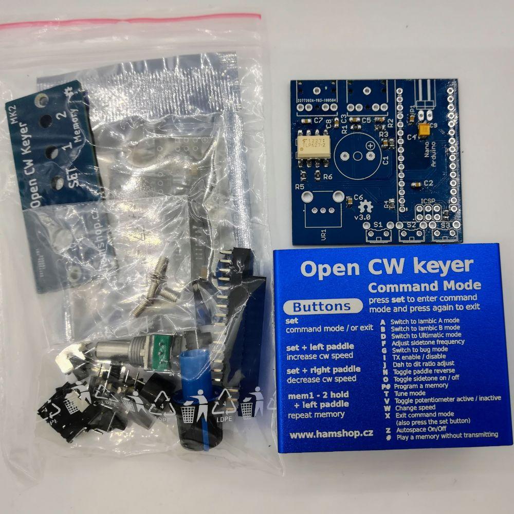 Open CW keyer MK2 Stavebnice