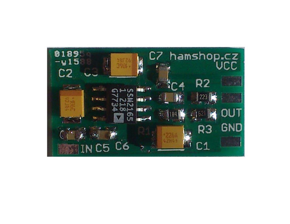 Speech compressor for FT-817