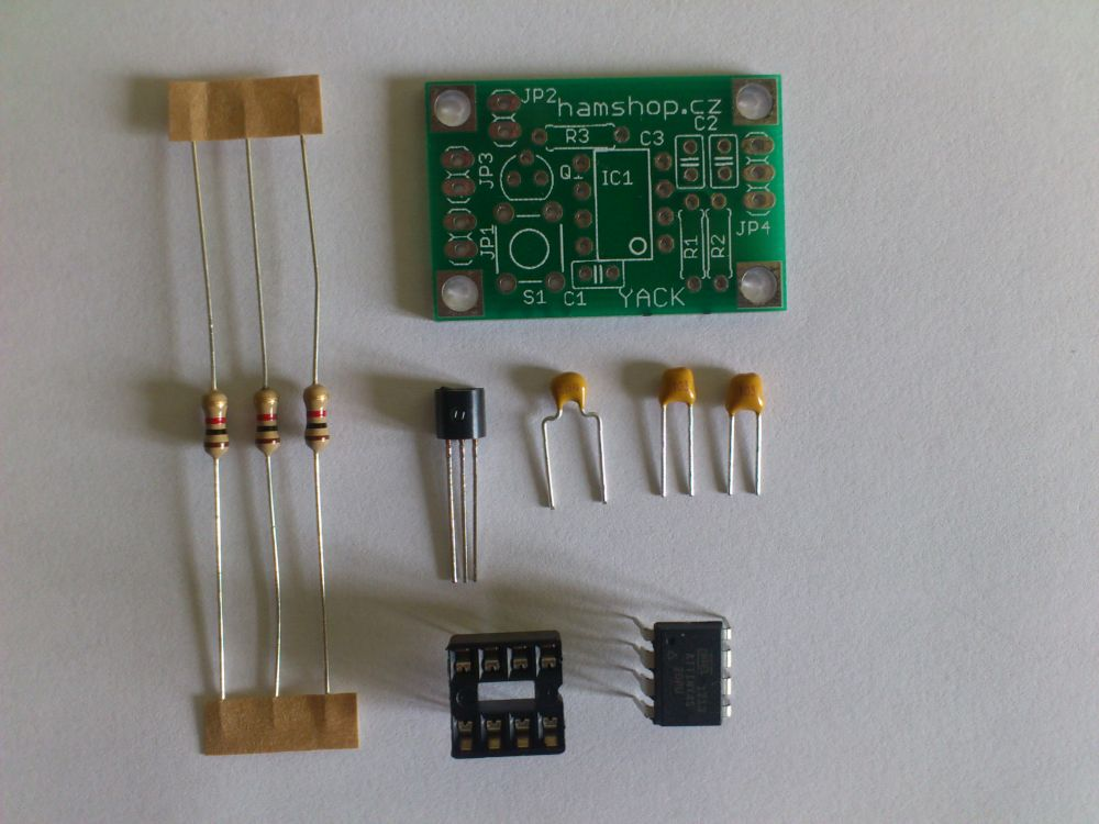 YACK - morse memory keyer KIT