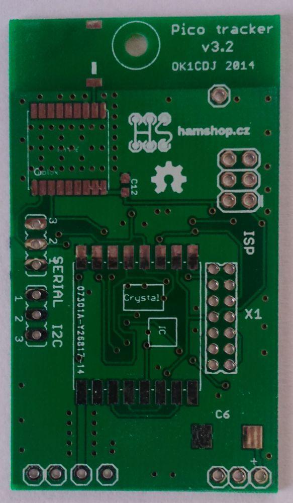 Picotracker v 3.2 PCB
