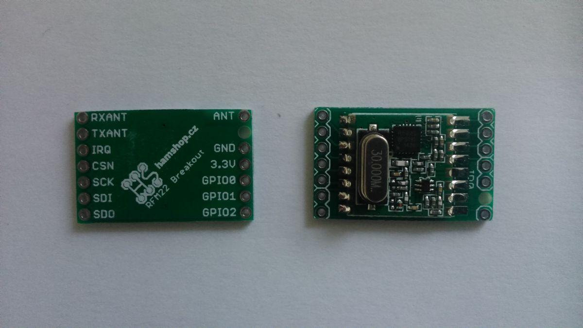 Modul s RFM22B-433-S1