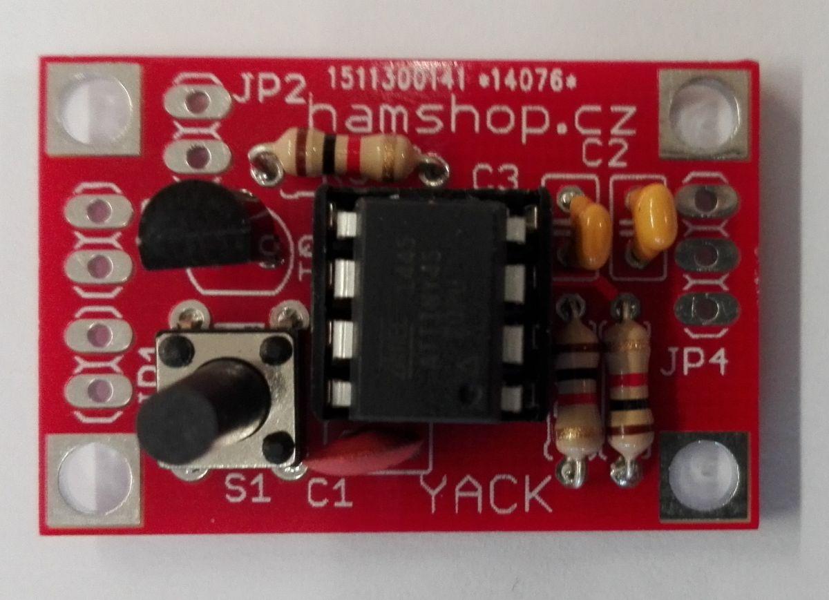 YACK - morse memory keyer
