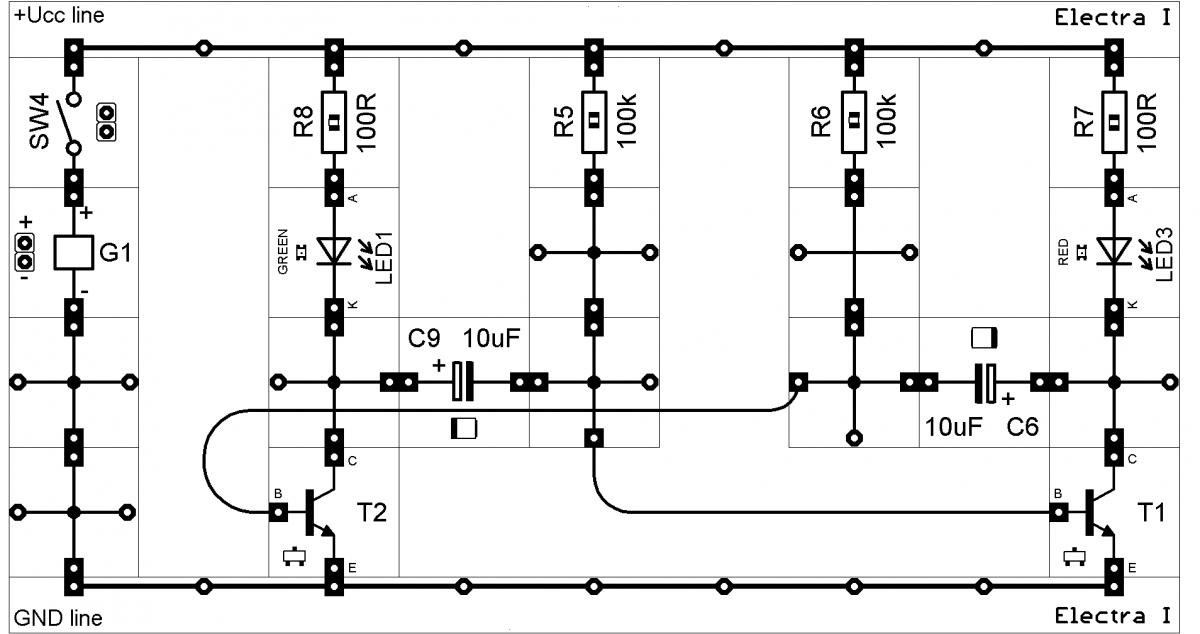 Elektrotechnická stavebnice Electra I.