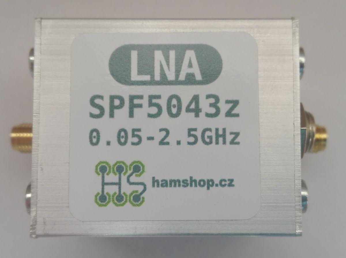 LNA with SPF-5043z