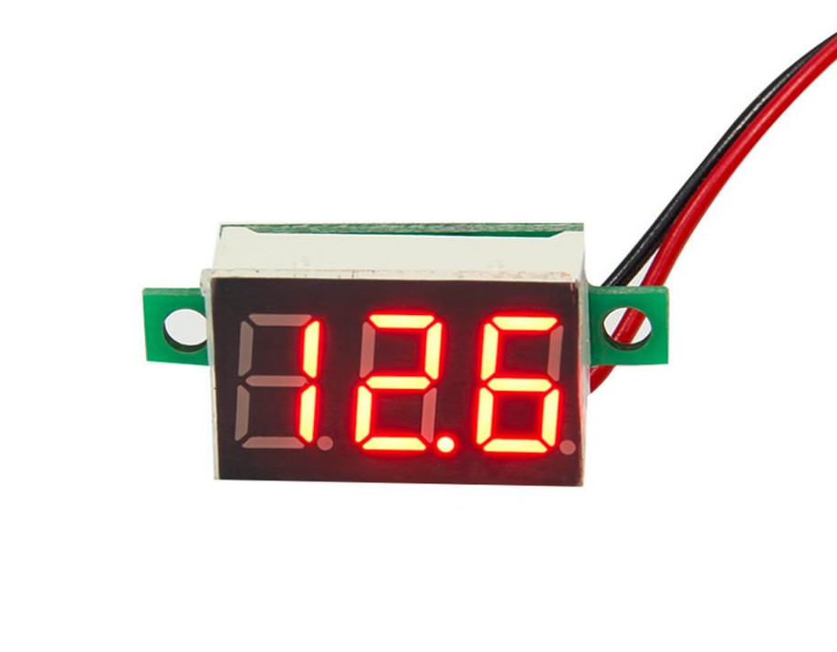 DC 30V 0.36' LED digital voltmeter red