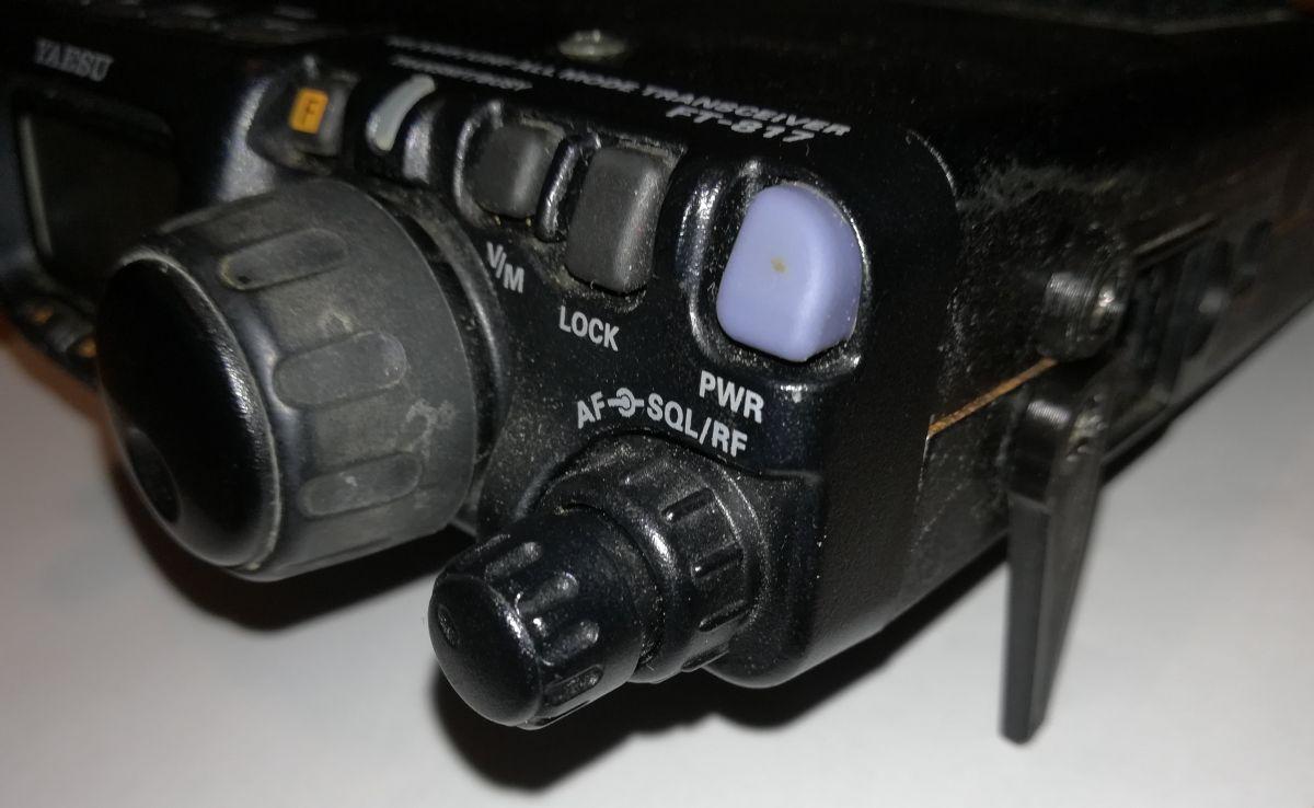 Legs for FT-817, FT-818