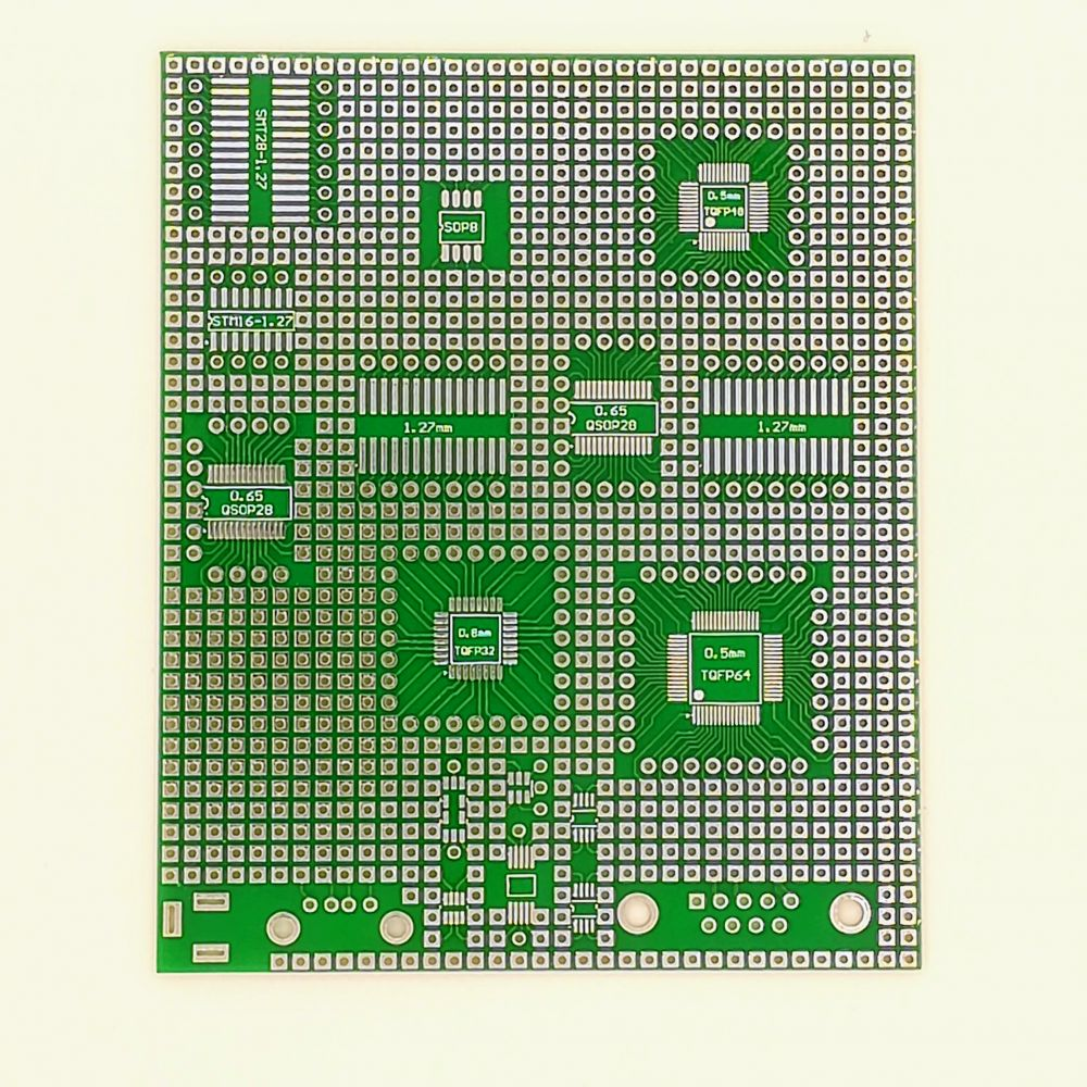 SMD universal board 9*11cm QSOP QFP DIP
