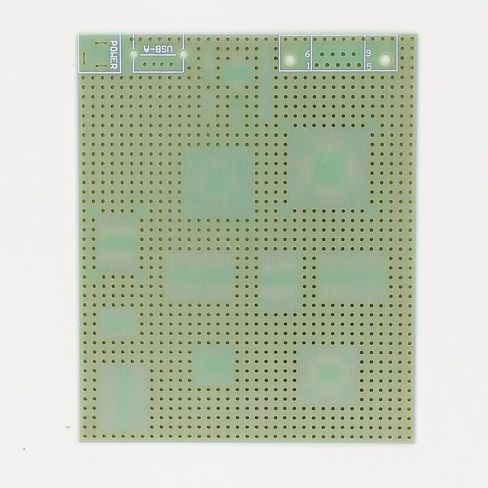 SMD univerzální plošný spoj 9*11cm QSOP QFP DIP