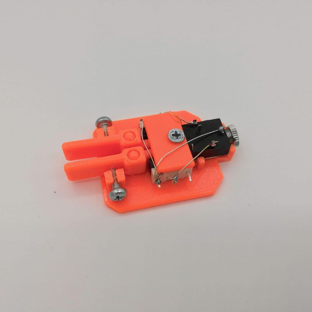 Mini Morse Paddle - QRP, portable, SOTA