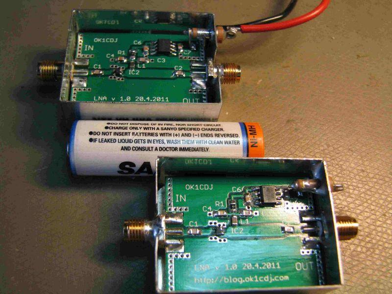 LNA with SPF-5043z KIT