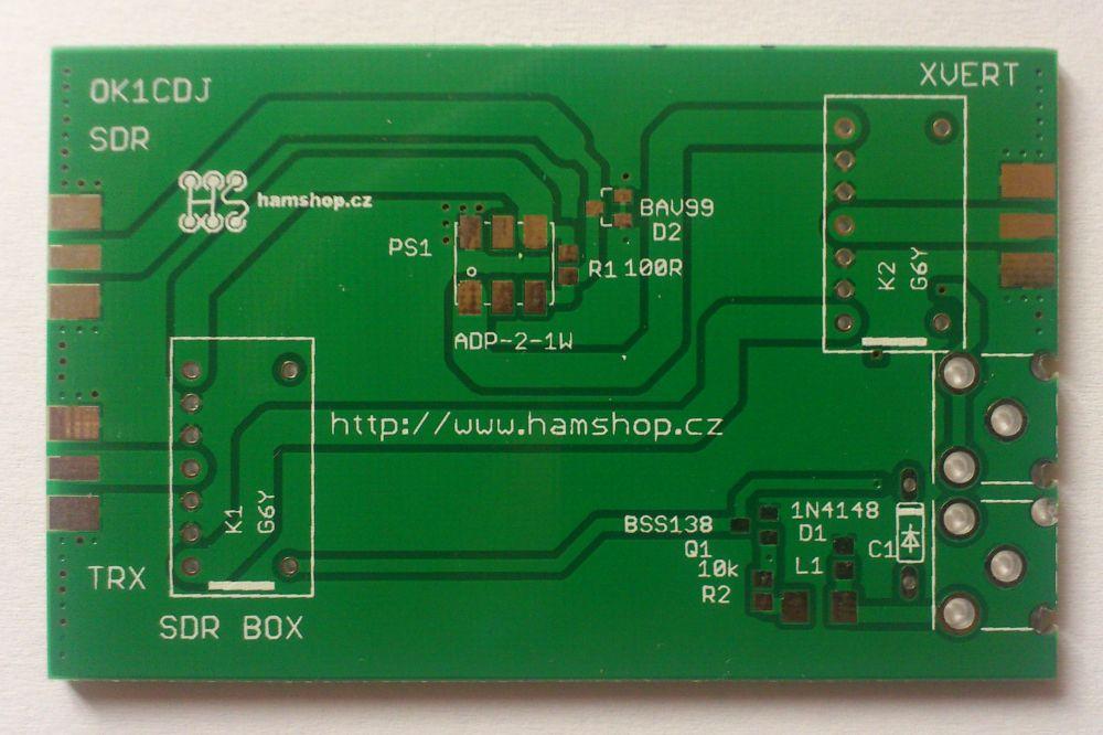 Plošný spoj - SDR BOX