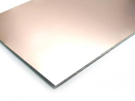 Cubrextit 10x20cm FR4 1.5mm PCB oboustranný