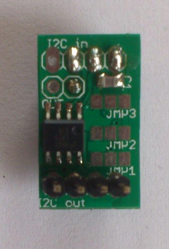 I2C teploměr pro Raspberry PI
