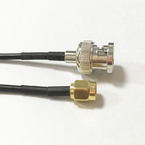 Kabel SMA (M) BNC (M) RG174 2m