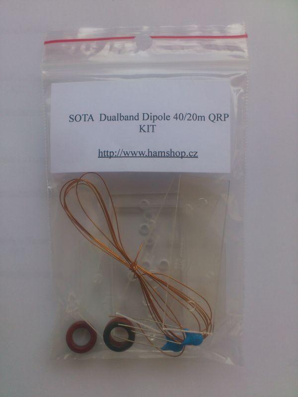 Stavebnice SOTA dualband antény 40/20m