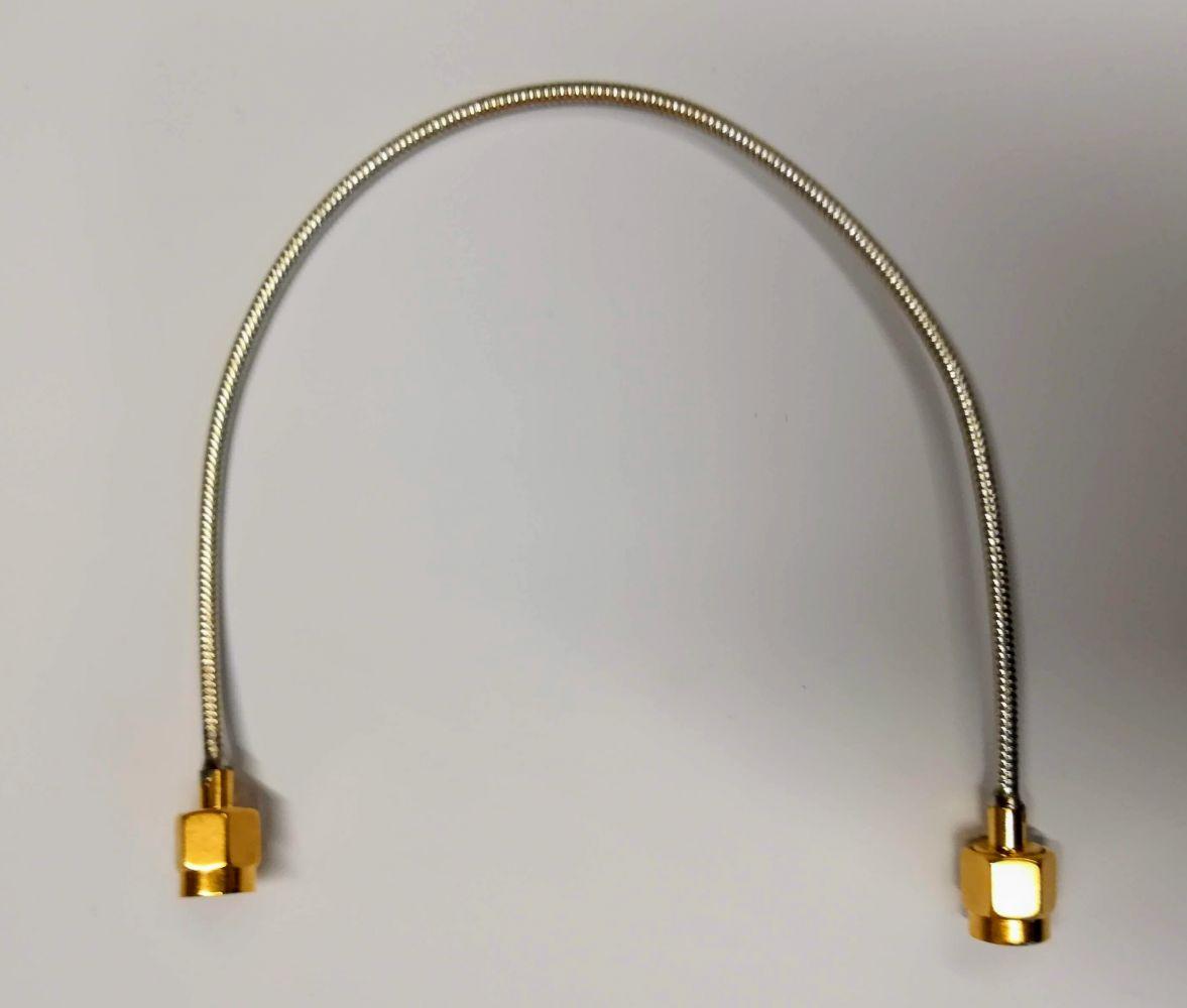 Propojka SMA-SMA RG-405 délka 10cm